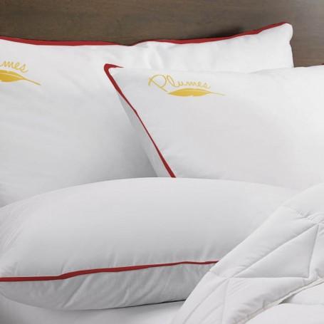Oreiller Confort Plumes OREILLER & TRAVERSIN 10,90 €