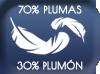 70% plumes 30% duvet