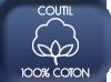 Coutil 100% coton