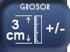 Epaisseur 3 cm