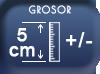 Epaisseur 5 cm