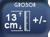 Epaisseur 13 cm