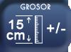 Epaisseur 15 cm