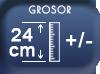Grosor 24cm