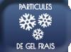Particules de gel frais